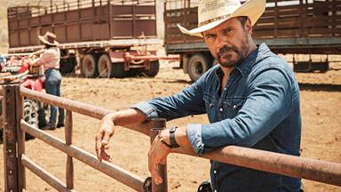 Mystery Road's Aaron Pedersen reflects on his latest TV role - and life with his brother