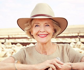EXCLUSIVE: Watch Dame Quentin Bryce proudly sing Waltzing Matilda