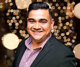 Logie Award nominee Dilruk Jayasinha can't believe his luck - but we can!