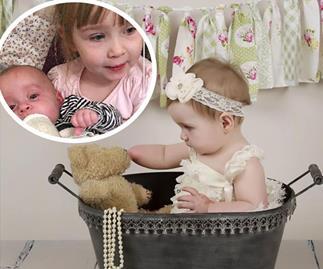 Mummy's little helper: Who needs hands?