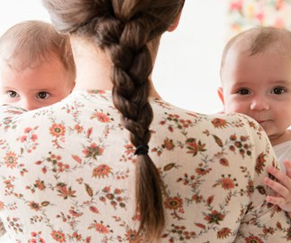 "Real life: ""My dad's given me TWINS"""