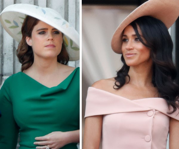 Princess Eugenie and Meghan Markle