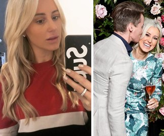 """I'm in trouble!"" Roxy Jacenko recalls the moment she was sprung kissing her ex in shock photos"