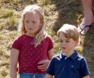 Savannah Phillips and Prince George