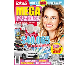 Mega Puzzler Issue 29 Coupon