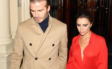 What really happened between David Beckham and Harper's teacher?