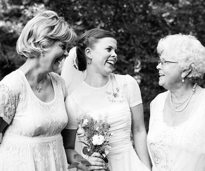 Naughty nannas: Nanna bonked the best man at my wedding!