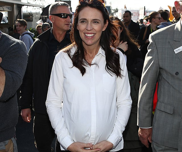 New Zealand PM Jacinda Ardern has gone into labour