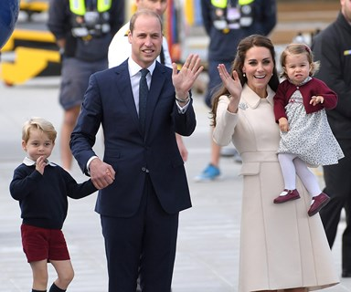 Prince William reveals: 'George thinks I'm cool and Charlotte is fashion obsessed, like her mum!'