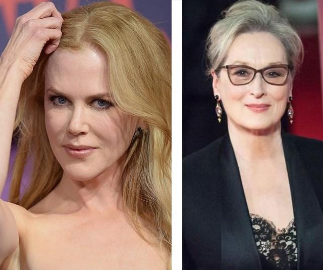 Nicole Kidman Meryl Streep