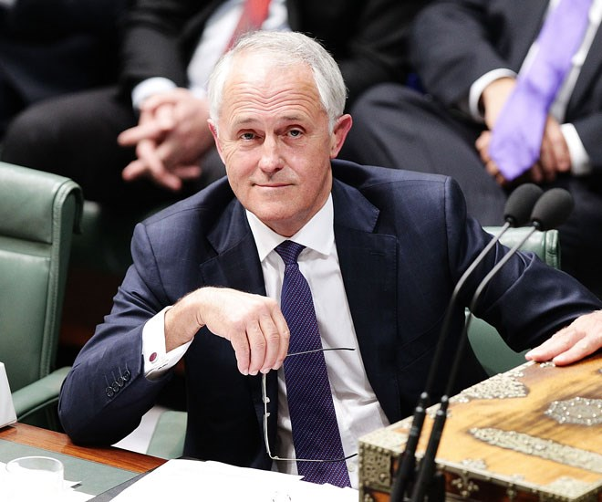 Malcolm Turnbull votes Amanda Keller Logies