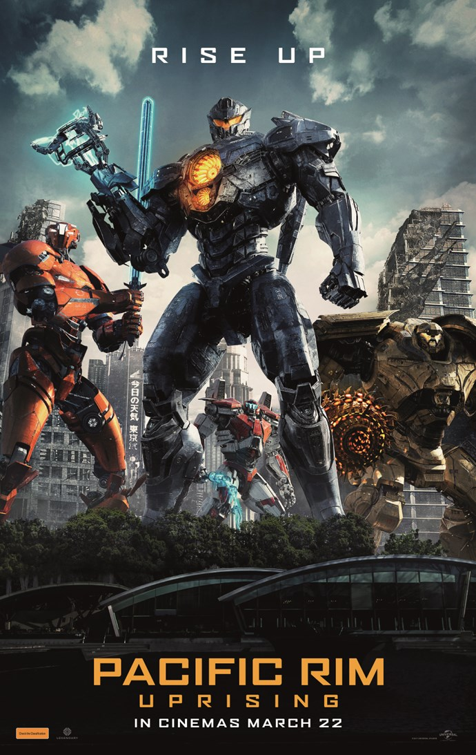 Win a signed Pacific Rim: Uprising poster and one of 10 DVDs