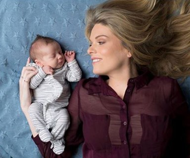 Too cute: Erin Molan shares first baby pics of baby daughter Eliza
