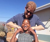 Inside Prince Harry's secret trip to Africa