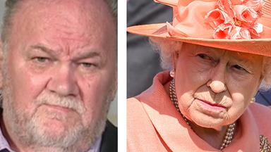 Thomas Markle isn't happy Donald Trump will meet The Queen before him