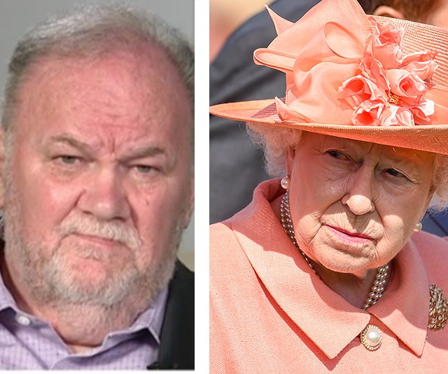 """She has no excuse not to meet me."" Thomas Markle slams the Queen for snubbing him"