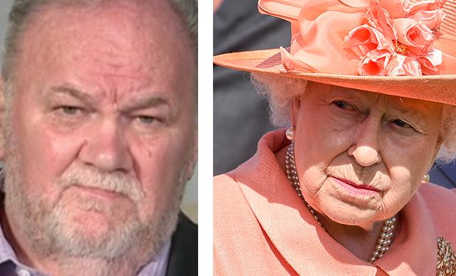 """""""She has no excuse not to meet me."""" Thomas Markle slams the Queen for snubbing him"""