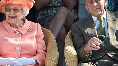 Prince Philip looked happier than ever at the Windsor Cup polo