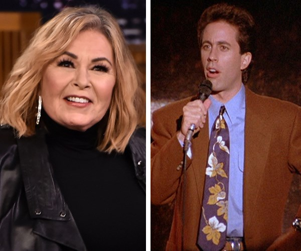 Jerry Seinfeld: Roseanne Barr shouldn't have been fired from her show