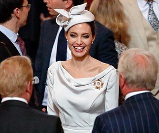 Angelina Jolie channels Duchess Meghan at royal service in London