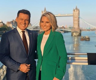 """I thought she was going to hit me!"" Karl Stefanovic on Georgie Gardner's reaction to Uber scandal"
