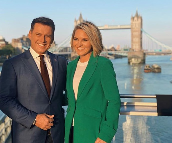 """""""I thought she was going to hit me!"""" Karl Stefanovic on Georgie Gardner's reaction to Uber scandal"""