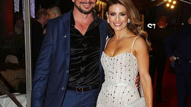 Ada Nicodemou and boyfriend Adam Rigby make their red carpet debut at the 2018 TV WEEK Logie Awards
