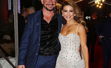 Ada Nicodemou and boyfriend Adam Rigby make their red carpet debut at the 2018 TV WEEK Logie Awards