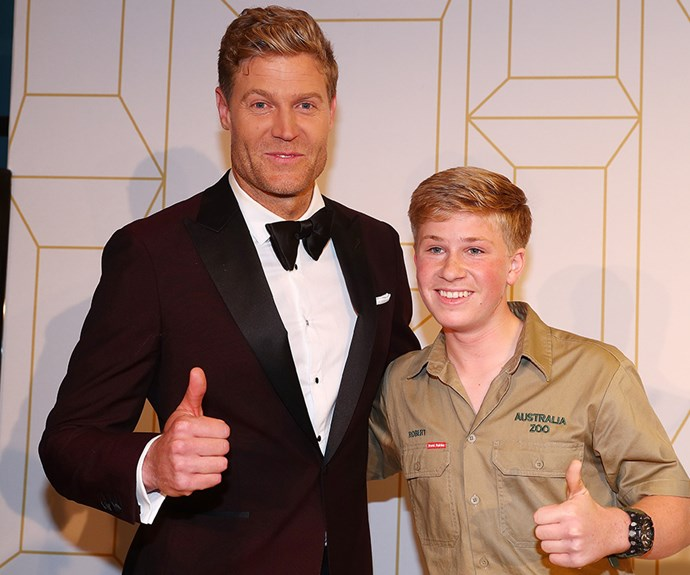 Dr Chris Brown and Bob Irwin's Logie's bromance