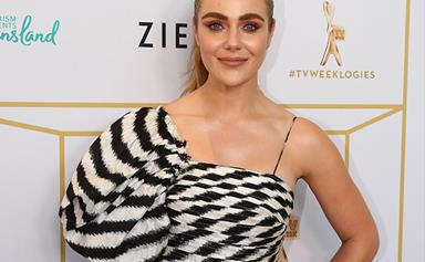 Jessica Marais thanks her supporters after her Logie win for Most Popular Actress