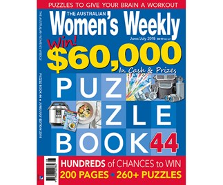 The Australian Women's Weekly Puzzle Book Issue 44