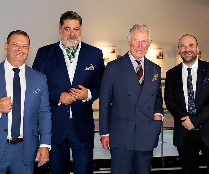 Prince Charles on Masterchef