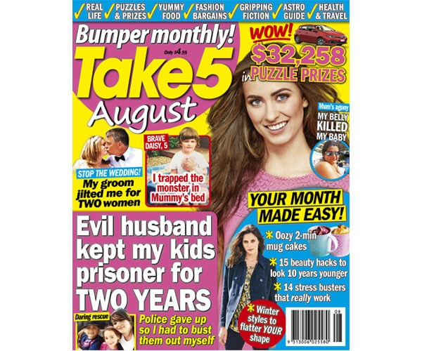 Take 5 Bumper Monthly – on sale now!