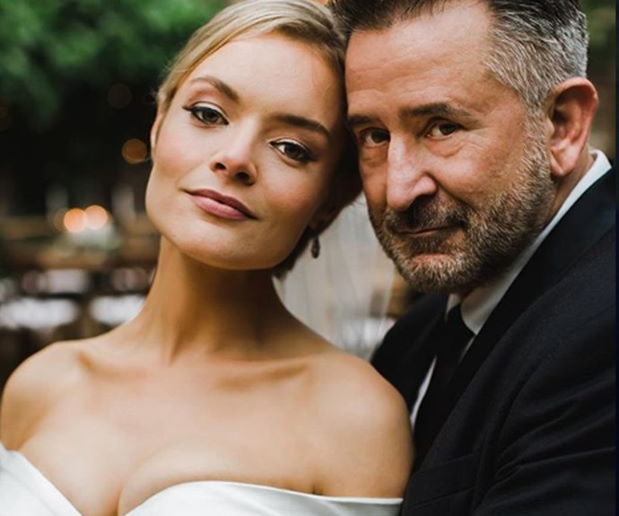 Congrats! Anthony LaPaglia marries his girlfriend, Alexandra Henkel