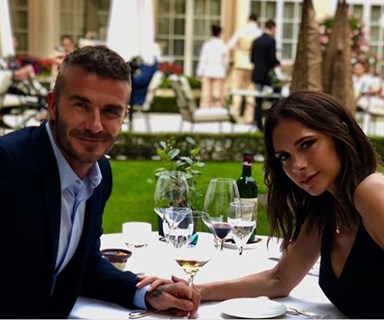 David and Victoria Beckham celebrate their 19th wedding anniversary