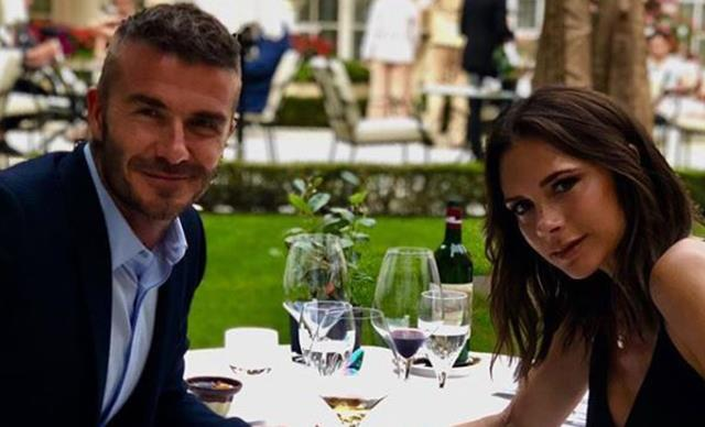 David and Victoria Beckham celebrate their 19th wedding anniversary