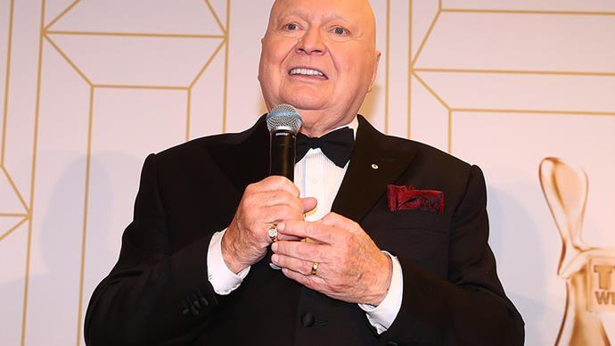 Bert Newton at the 2018 Logies
