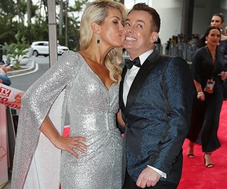 Grant and Cheryl Denyer on Logies red carpet