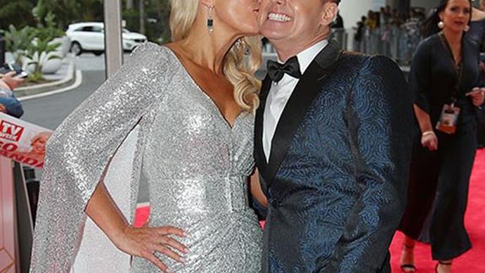Grant and Cheryl Denyer on Logies red carpet
