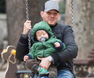 """Michael Bublé's honest update on son Noah's cancer battle: """"I don't talk about it, it hurts too much"""""""