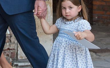 The Princess of Confidence! Charlotte steals the show AGAIN at Prince Louis' christening
