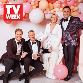 Barry Du Bois pays tribute to his The Living Room co-stars at the TV WEEK Logie Awards