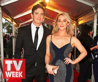 Love was in the air at the Logies for TV's hottest couples