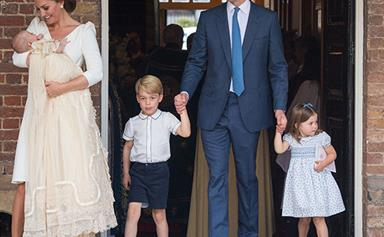 Prince Louis' Christening: Every photo from the royal day