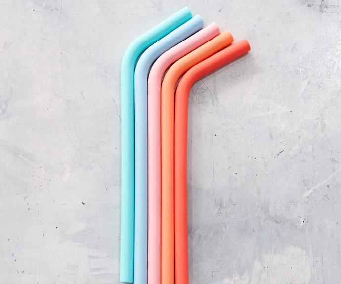 Get sippin': These are the best reusable straws available to buy in Australia - we want them all
