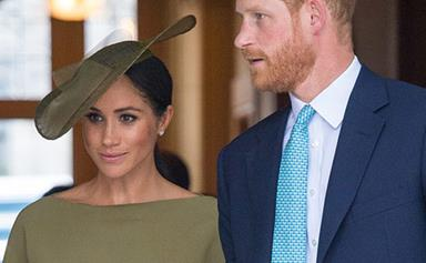 Why Meghan Markle isn't Prince Louis' godmother