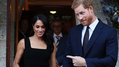 The look of love: plenty of PDAs for Prince Harry and Meghan Markle despite their HECTIC schedules