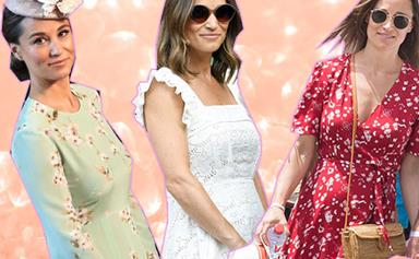 Blooming beautiful! Pippa Middleton's pregnancy in pictures