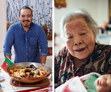 Adam Liaw's grandmother dies