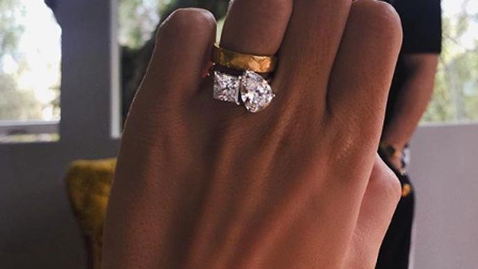 Celebrity engagement rings, Roxy